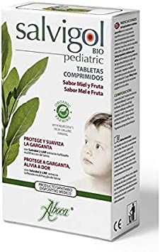 ABOCA Salvigol bio pedriatico 30 tab: Amazon.es: Salud y cuidado ...
