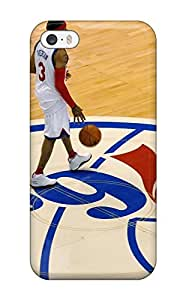 For XLiLWQz762LsgxQ Philadelphia 76ers Nba Basketball (19) Protective Case Cover Skin/For iphone 4/4s Case Cover(3D PC Soft Case)