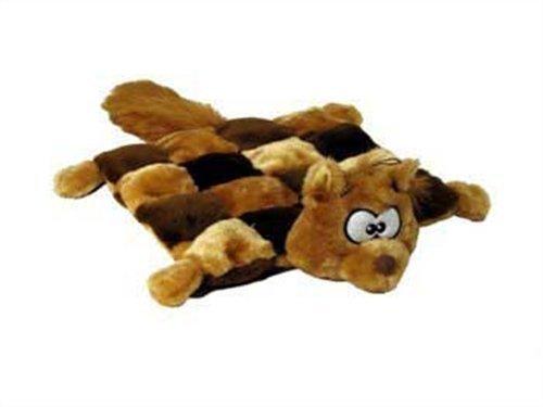 Outward Hound  Matz 16-Squeaker Plush Toy, Squirrel
