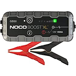 NOCO Boost XL GB50 1500 Amp 12V UltraSafe Portable Lithium Car Battery Jump Starter Pack for Up to 7L Gasoline and 4.5L Diesel Engines