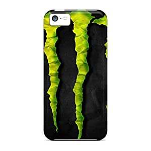 New Premium Rlbennett Monster Skin Case Cover Excellent Fitted For Iphone 5c