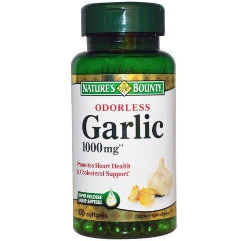 Nature's Bounty Garlic 1000 mg Softgels 100 ea