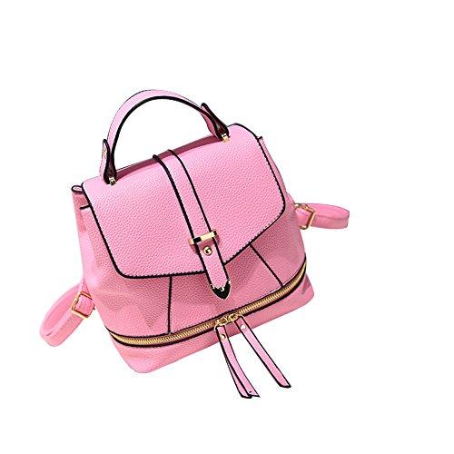 Yiliay , Damen Rucksackhandtasche Pink rose