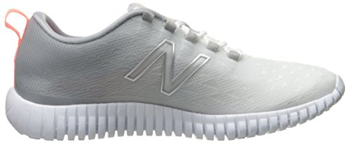 Balance 99 Mujer Training 043 para Interior Silver New Blanco Zapatillas Deportivas para White SdwSqf