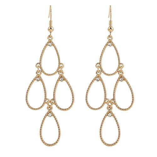 EXCEED Jewelry Teardrop Chandelier Earrings product image