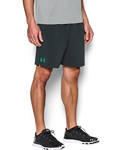 Under Armour UA Hit Woven Athletic Shorts, XXL, Anthracite