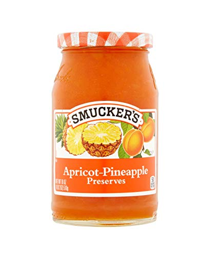Smucker's  Apricot-Pineapple Preserves, 18-Ounce (Pack of 6)