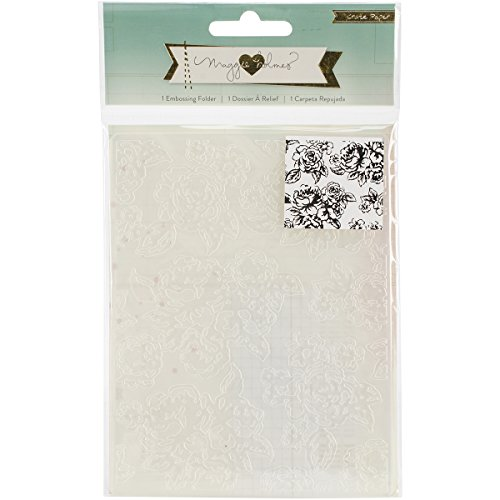 - Crate Paper Maggie Holmes Open Book Embossing Folder