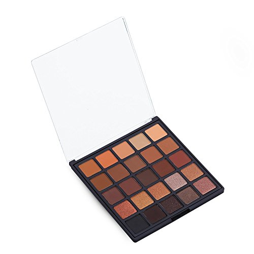 Allwon Professional Eyeshadow Palette Makeup Copper Spice Ma