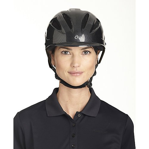 Ovation Women's Protege Riding Helmet, Graphite, Medium/Large
