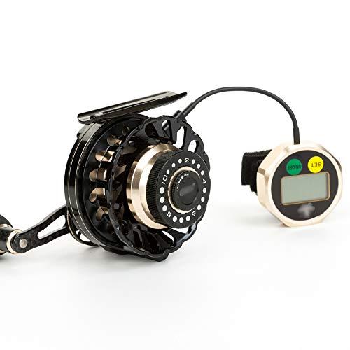 SH-QIAN Carrete De Pesca Digital Rueda Delantera Relación De Velocidad 4.3: 1 Todo Metal 8BB Peso Ligero Drenaje 2Kg Desaceleración Magnética Equipo De Pesca,Lefthand por SH-QIAN