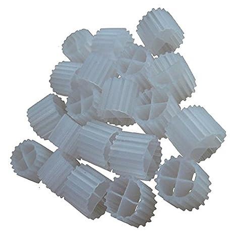 Medios De Filtro De 3.5 litros [K1 Micro] movimiento cama biofilm Reactor (mbbr