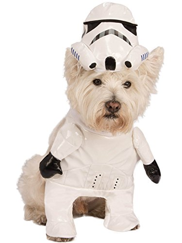 Rubie's Star Wars Walking Stormtrooper Pet Costume, Small -