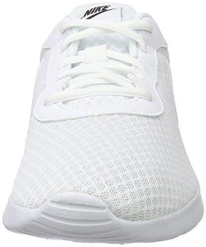 Nike Blanco Zapatillas Tanjun Running White black para Mujer White de rZrvqUx1
