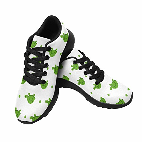InterestPrint Womens Casual Soft Sports Road Running Walking Shoes Turtle Multi 1 vJ8bME