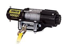 Champion Power Equipment 14560 4500 lb. ATV/UTV Wireless Winch Kit (12V DC)