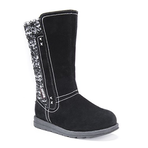 Fashion LUKS Women's Black Stacy Boots MUK xIqPUdSU