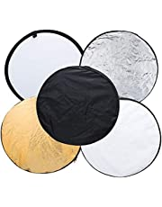 """32"""" 80cm 5 in 1 Portable Collapsible Light Round Photography/Photo Reflector for Studio"""