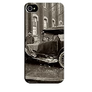 Slippery When Wet 3D And CG Gray Case Cover For Iphone 5/5s Slippery When Wet