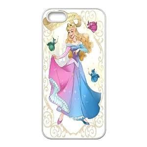Unique Design -ZE-MIN PHONE CASE For Apple Iphone 5 5S Cases -Sleeping Beauty-Maleficient Pattern 2