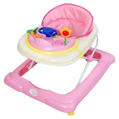 Andador para bebé, modelo osito. Andador de actividades o tacatá rosa TORAL BEBE SL