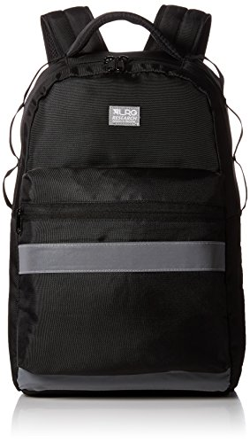 LRG Men's Highly Visual Backpack, Black, One (Visual Pack)
