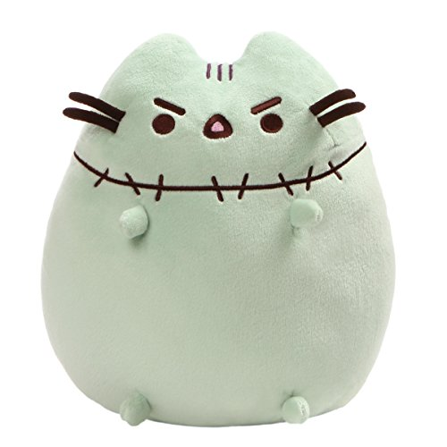 Ghost Pokemon Halloween (GUND Pusheen Zombie Halloween Cat Plush Stuffed Animal, Green,)