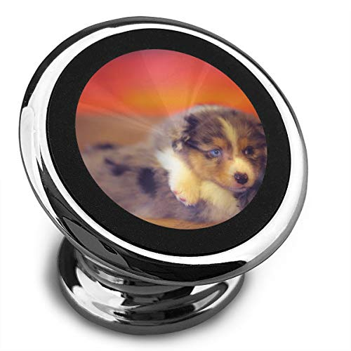 Magnetic Car Phone Lovely Colorful Dogs Mobile Bracket 360 Degree Rotation from Dashboard