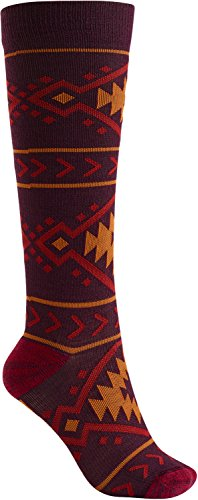 Burton Women's Super Party Socks, Arctic GEO, Small/Medium
