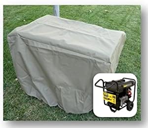 """Generator Cover 37""""L x 25""""W x 27.5""""H - In Taupe"""