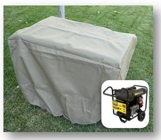 Generator Cover 37''L x 25''W x 27.5''H - In Taupe by Formosa Covers