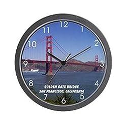 CafePress - San Francisco Souvenir Wall Clock - Unique Decorative 10 Wall Clock