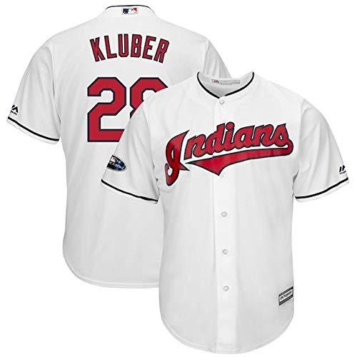 Majestic Indians Majestic Corey Kluber Cleveland Indians Base Jersey White 2018 Postseason Home Cool Base Player Jersey スポーツ用品【並行輸入品】 M B07HK77FBD, マリアージュ:95fd8ba2 --- cgt-tbc.fr