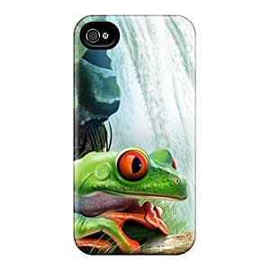 Cute Tpu MichelleNCrawford Frog Case Cover For Iphone 4/4s