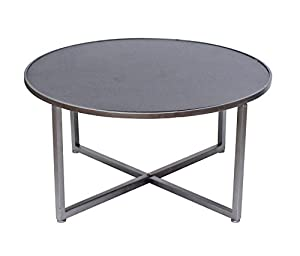 Teton Home Minimalist Round Tea Table   AF 115