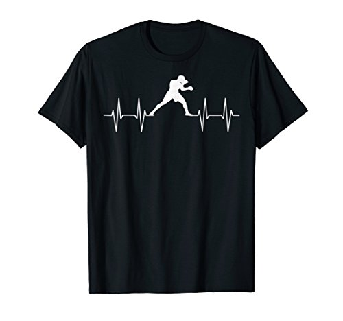 - Heartbeat Boxing T-shirt Funny Boxer Gift Shirt Graphic Tee