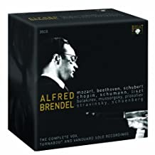 Alfred Brendel: The Complete Vox-Turnabout and Vanguard Solo Recordings 1955-1975 by Alfred Brendel (2008-09-30)