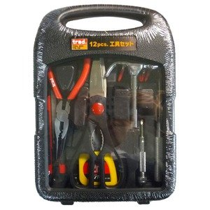 (業務用20セット)TRAD 工具セット/作業工具 【12個入】 TS-12 〔業務用/家庭用/DIY/日曜大工〕 B01MDSFEOI