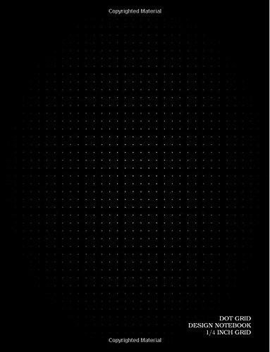 DOT GRID Design Notebook: 1/4 inch grid (0.25
