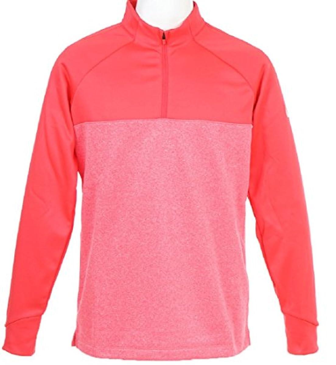 [해외] NIKE 나이키 긴 소매 트레이너 골프 재킷 THERMA 코어 허프 ZIP 톱 X엘사이즈(176-185CM) 국내 정규품 854499 싸이렌 레드