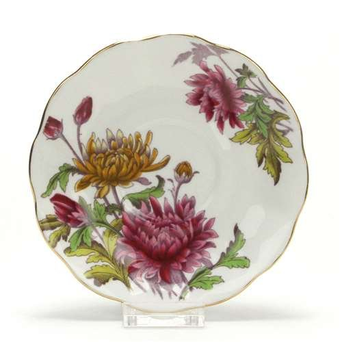 Flower of the Month by Royal Albert, China Saucer, Chrysan., November (Royal Albert Flower Of The Month Tea Cups)
