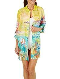 Womens Florida Fairy Tail Shirt Cover-up
