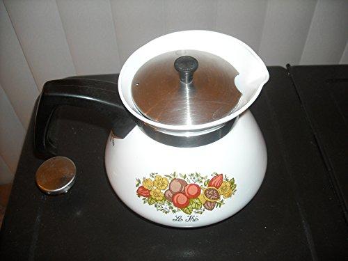 Corelle Corning Ware Spice of Life Le The 6 Cup Tea Pot