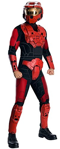 Deluxe Spartan Adult Costume Deluxe Red Spartan