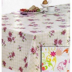 Tovaglia cerata rotonda tovaglioli di carta - Tovaglia per tavolo ovale ...