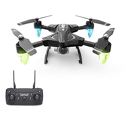 SODIAL Helicóptero RC Drone HD WiFi FPV Selfie Drone Profesional ...