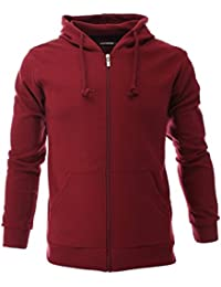 Mens Slim Zip Up Hoodie