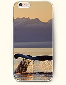 iPhone 6 Case,OOFIT iPhone 6 (4.7) Hard Case **NEW** Case with the Design of Whale and Its Tail - ECO-Friendly Packaging - Case for Apple iPhone iPhone 6 (4.7) (2014) Verizon, AT&T Sprint, T-mobile by Maris's Diary