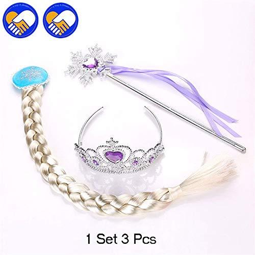 Amazon.com: Elsa Anna - Juego de 3 piezas de accesorios de ...