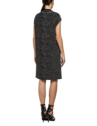 Donna Vestito Black Nero REPLAY 98 851qWU4